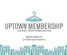 Uptown Membership - Chloe ($99.00 Monthly)