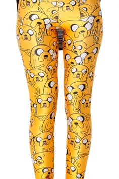 OMG!!! Maybe I prefer these ones!! Adventure Time leggings!! Do you like it?