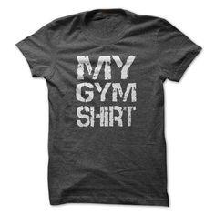 My Gym T Shirts, Hoodies, Sweatshirts. CHECK PRICE ==► https://www.sunfrog.com/Fitness/My-Gym-Shirt.html?41382