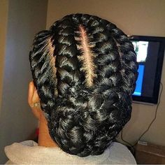 31 Goddess Braids Hairstyles for Black Women Are you looking for a simple (yet fierce) new style? You should take a peek at these 31 goddess braids hairstyles for women! African Hairstyles, Black Women Hairstyles, Straight Hairstyles, Braided Hairstyles For Black Women Cornrows, Long Haircuts, Trendy Haircuts, Beautiful Hairstyles, Elegant Hairstyles, Black Braided Updo