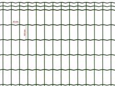 Siatka zgrzewana zielona 100x50mm/0,60m - rolka 10m