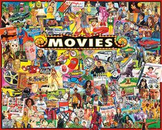 The Movies  - 1000 Piece Puzzle-White Mountain Puzzles