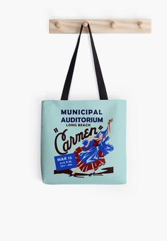 Retro Musical theatre Carmen advertising by aapshop