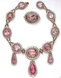 The glorious Russian topaz and diamond parure from the Swedish Royal Collection