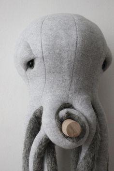 Small Octopus O Stuffed Animal O Plush Toy by BigStuffed on Etsy