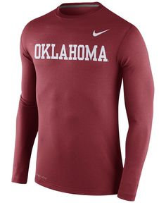 premium selection d0fda 7ad39 Nike Men s Long-Sleeve Alabama Crimson Tide Stadium Dri-fit Touch T-Shirt
