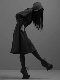 Morbid Fashion, katisque: Audrey Napoleon wearing Kao Pao Shu