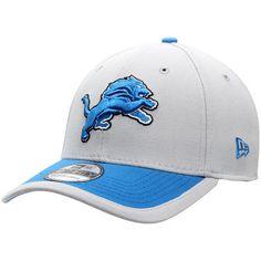 Adult Detroit Lions New Era Sideline 39THIRTY Gray Flex Fit Hat