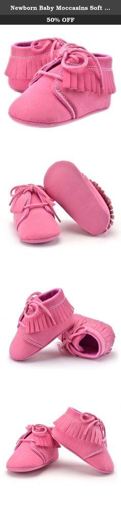 fa7d79eb0a6 Newborn Baby Moccasins Soft Sole Non-slip Footwear Crib Shoe (S 0-. Baby  MoccasinsBaby FeetCrib Shoes18 MonthsBaby GirlsSoleFootwearSlip OnHeels