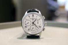 An in-house flyback chronograph for less than $4,000 is nothing to scoff at. One of these is now available from Frederique Constant, which introduced a typically classical interpretation just last week. We shared the basics as soon as the watch was launched, and now a few days later we're back with live images – including one of the new movement – and some more information. But our overall opinion hasn't changed – this really is a great watch for the money.