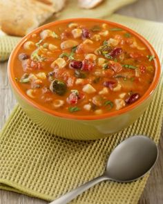 Low carb soup recipes for fall: Minestrone, Cauliflower Pepper Jack Soup, & Beef & Cabbage