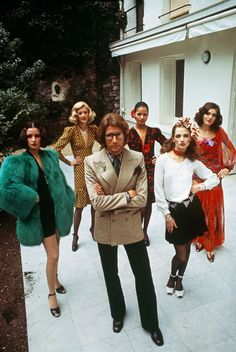 """I participated in the transformation of my era. I did it with clothes, which is surely less important than music, architecture, painting . . . but whatever it's worth, I did it,"" Yves Saint Laurent once said with characteristic modesty, summing up an extraordinary, mind-blowing career."
