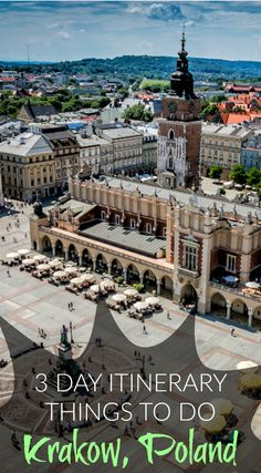 3 Day Itinerary – Things to Do in Krakow. If you're planning on heading to this historic city, here's a 3 day  blueprint to help you hit the ground running without missing any of the  best that Krakow has to offer. Click to read the full travel blog post