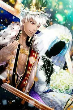 Otome Otaku Girl: Shall we date?: The Niflheim + King Jean CG's