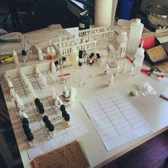 My e-juice DIY station. #vaping #vapors #ecig #vape