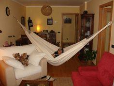 Ranchos Hammock Large made of unbleached cotton  : Quality Hammocks and Hanging Chairs, Marañon World of Hammocks