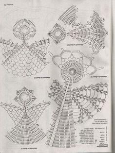 Angels crochet + scheme | Entries in category Angels crochet + scheme | Blog Valeri-create magical dream handmade: LiveInternet - Russian Service Online Diaries