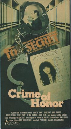 Crime of Honor (VHS)