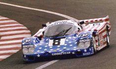 George Follmer / John Morton / Kenper Miller - Porsche 956 - Joest Racing - LIV Grand Prix d'Endurance les 24 Heures du Mans - 1986 FIA World Sports-Prototype Championship, round 3