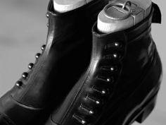 Black Boots Vintage Inspired