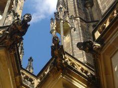 Gargoyles of St. Vitus Photograph  - Gargoyles of St. Vitus Fine Art Print
