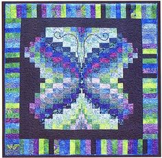 Bali Butterfly Quilt Pattern by KoolKat Quilting.
