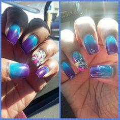 image result for mood changing gel polish  nails  mood