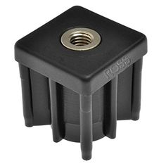 30 X Heavy Duty Square Metal Threaded Inserts by Ross Castors Oak Dining Table, Metal, Tube