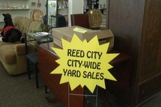 Reed City Preps for Annual Yard Sale - Northern Michigan's News Leader
