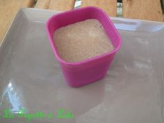 Flan aux carambars au Micor Vap tupperware