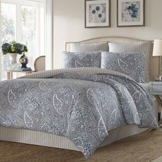 Stone Cottage Lancaster Cotton Sateen Comforter Set