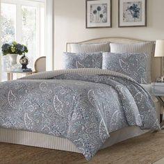 Stone Cottage Lancaster Cotton Sateen Comforter Set
