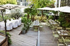 Pas facile de trouver un petit coin de verdure à Paris où se ressourcer pendant la pause déj... A présent, vous n'aurez plus d'hésitations !