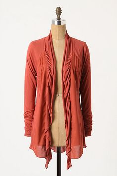 anthropologie --I really want something like this but in dark grey.