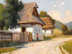 Budapest, Naive Art, City Art, Diy Canvas, Landscape Art, Van Gogh, Nice, Drawings, Romania