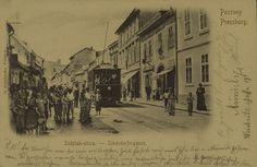 Pozsony - Postcard (1917)