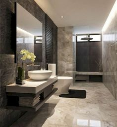 Luxurious bathroom inspiration ideas with stunning design details (5)