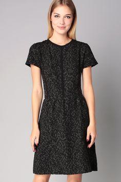 Short/Knee length dress - Black