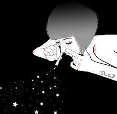 dream addict Art Print by shazawajjokh Wall Drawing, Art Drawings, Drugs Art, Black Background Wallpaper, Hip Hop Art, Sad Art, Alien Art, Human Art, Dope Art