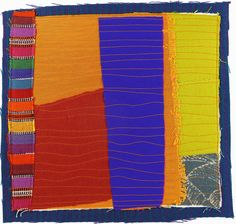 Karen Anne Glick - 9102012 small art quilt contemporary abstract