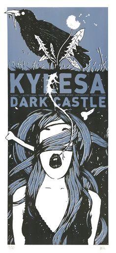 \,,/ Kylesa #gigposter