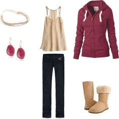 """""""Fall Comfort"""" by victoriabennett on Polyvore"""