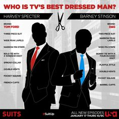 Who is TV's best dressed man? Suit up with Suits!