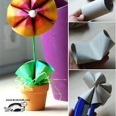 Toilet paper rolls are those items that we use every day. Instead of just throwing those empty toilet paper tubes out, we can repurpose them as creative crafts for kids or home decoration. Here are Homemade Toilet Paper Roll Crafts for your inspiration. Kids Crafts, Crafts To Do, Arts And Crafts, Easy Crafts, Preschool Crafts, Rolled Paper Art, Toilet Paper Roll Crafts, Do It Yourself Crafts, Mothers Day Crafts