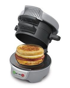 #Electric #breakfast sandwich #maker cook fast sandwiches easy clean up sandwich,  View more on the LINK: http://www.zeppy.io/product/gb/2/301904849743/