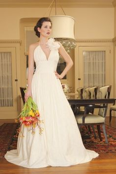 $950.00 Eco-friendly wedding gowns. The Charlotte gown is a hemp/silk blend. Check out more at www.naturalbridals.com
