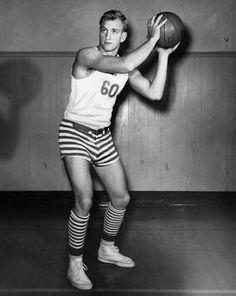 Eddie Hoff, Fancy-pants Cager, 1948