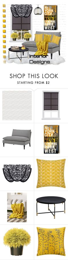 """""""Untitled #1543"""" by jothomas ❤ liked on Polyvore featuring interior, interiors, interior design, home, home decor, interior decorating, Eichholtz, Home Decorators Collection, J. Queen New York and Orla Kiely"""