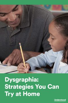 At-home strategies to help your child with #dysgraphia