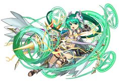 Hunter God of the Holy Bow Artemis Game Character, Character Concept, Concept Art, Character Ideas, Fantasy Characters, Anime Characters, Fantasy Fighter, Puzzles And Dragons, Anime Kunst